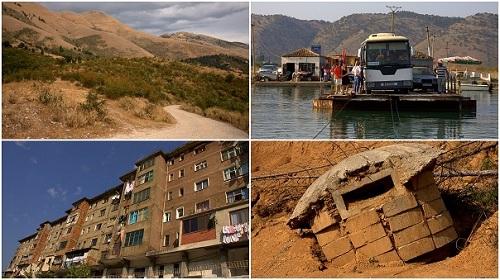 Albanija,bunkerji,mercedesi, potovanje po Albaniji z avtom, popotniški blog