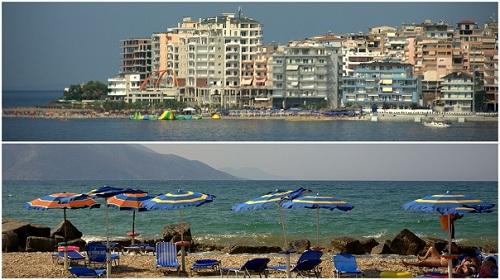 Albanija,obala, plaže, potovanje z avtom po Albaniji, popotniški blog
