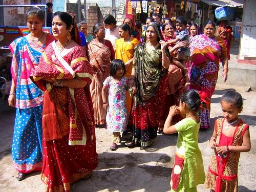 Indija, otok Diu, hindujska poroka, hinduizem, potovanje, popotniški blog