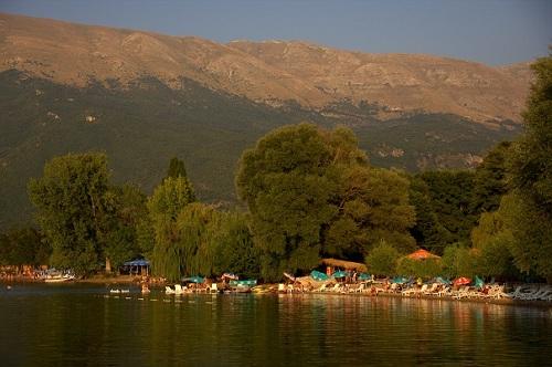 Makedonija, Ljubanište, Ohridsko jezero, potovanje po Makedoniji z avtom, popotniški blog