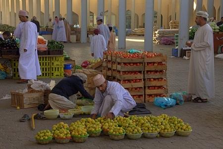 Oman, tržnice, bazarji, potovanje, popotniški blog
