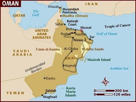 Oman, potovanje, popotniški blog