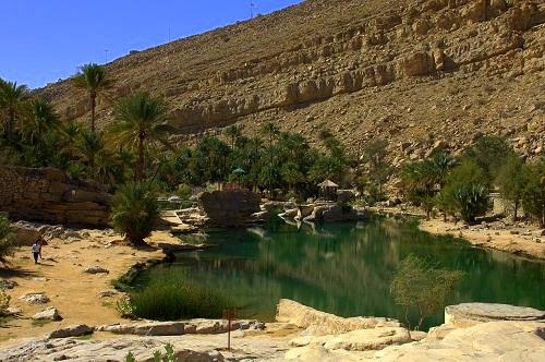 Oman,Wadi Bani Khalid, potovanje, popotniški blog, znamenitosti