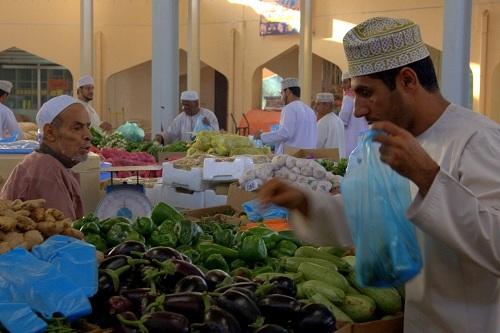 Oman, Bazar, tržnica, potovanje, popotniški blog, znamenitosti