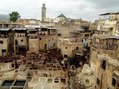 Fez, potovanje, Maroko, znamenitosti