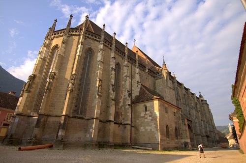 Romunija potovanje, potovanje v Romunijo, z avtom v Romunijo, Transilvanija, Brašov, črna katedrala