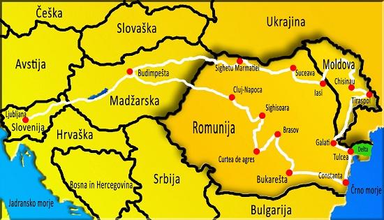Delta Donave, reka Donava, izliv reke Donave, črno morje, Romunija potovanje, Romunija znamenitosti