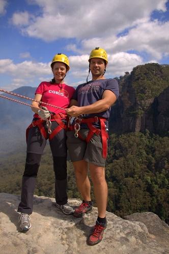 Avstralija potovanje, Modro gorovje, Blue Mountains, soteskanje, potovanje v Avstralijo