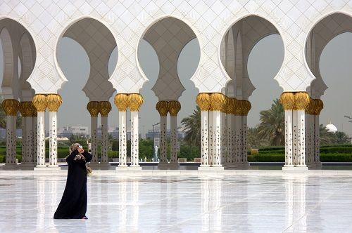 Abu dhabi znamenitosti, mošeja Sheikh Zayed, šejk Zayed mošeja