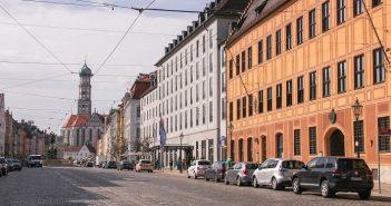 Augsburg Nemčija, Nemčija potovanje, potovanje v Nemčijo
