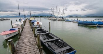 Nemčija potovanje, jezero Chimsee, Chimsee Nemčija