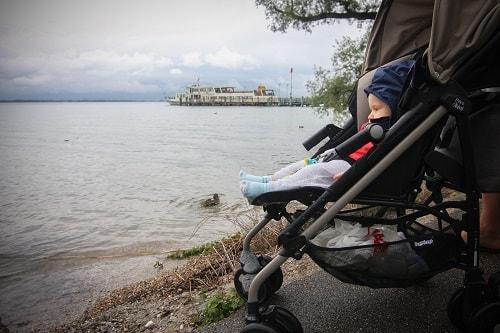 Nemčija potovanje, jezero Chimsee, Chiemsee Nemčija