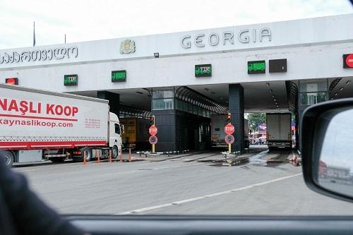 Gruzija potovanje, Gruzija z avtom, Gruzija z otrokom