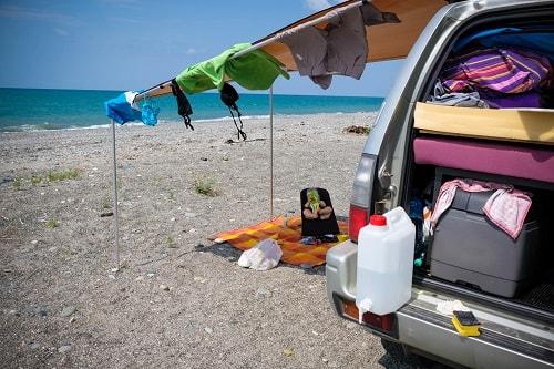 divje kampiranje, avanturistična potovanja, poceni potovanja