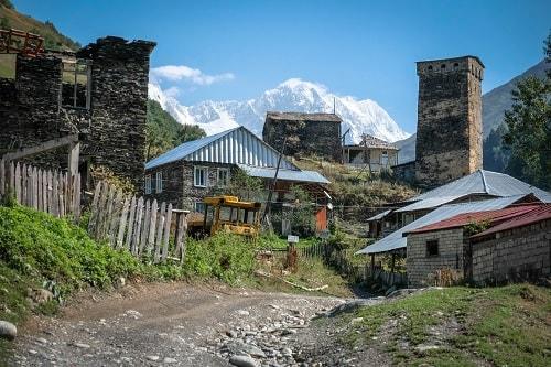 svaneti gruzija, gruzija potovanje, gruzija znamenitosti