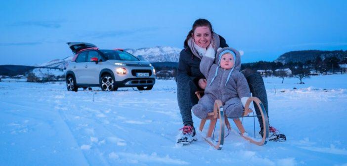 Na zasnežena brezpotja ali na morje? Novi Citroën C3 Aircross preiskušeno zmore oboje
