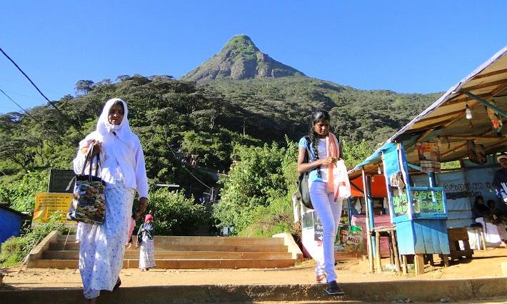 Adamov vrh - Šri Lanka znamenitosti / Šri Lanka potovanje