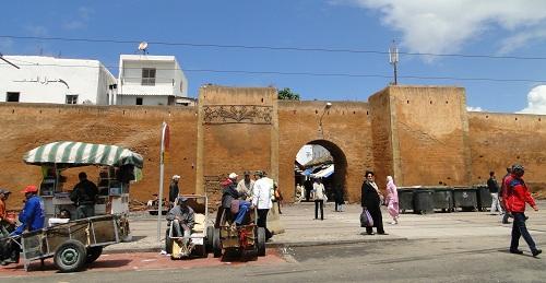 potovanje v Maroko, Maroko potovanje, z avtom v Maroko, Maroko znamenitosti, Rabat