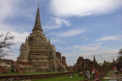 Tajska potovanje, Ayuthaya, popotniški blog, potovanje