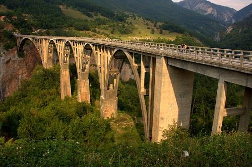 Črna Gora, reka Tara, potovanje, Balkan, popotniški blog