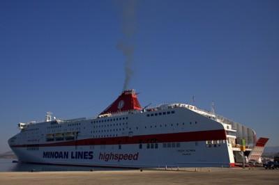 Grčija, ladijska družba Minoan, potovanje po Balkanu, popotniški blog,