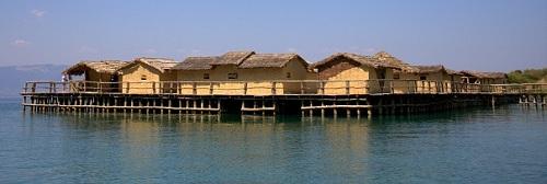 Makedonija, muzej na vodi, Ohridsko jezero, potovanje po Makedoniji z avtom, popotniški blog