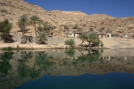 Oman, puščava, oaza, potovanje, popotniški blog