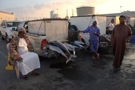 Oman, potovanje, morska hrana, popotniški blog