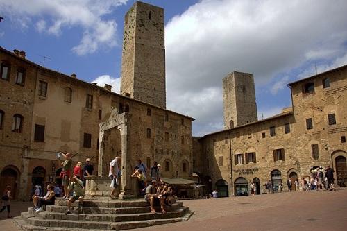San Gimignano, Toskana, izlet po Toskani, popotniški blog
