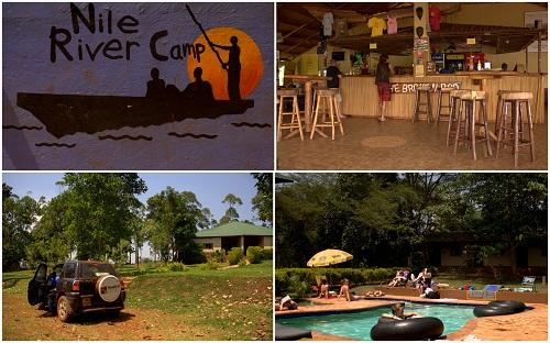 Afrika, Uganda, kampiranje, reka NIl, Jinja, najem avtomobila