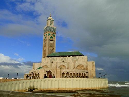 Casablanca, potovanje, Maroko, znamenitosti