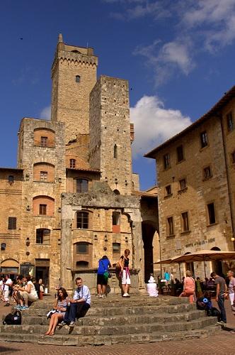 Toskana, izlet v Toskano, San Gimignano, popotniški blog