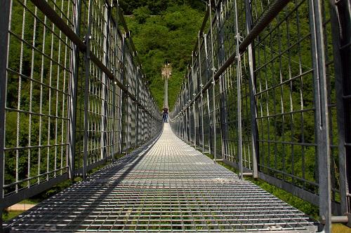 Toskana, izlet v Toskano, viseči most, popotniški blog
