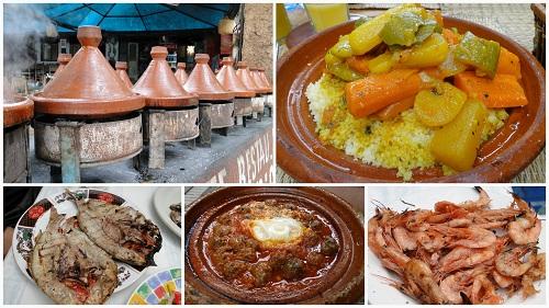 hrana, tažin, Maroko, potovanje, metin čaj, znamenitosti
