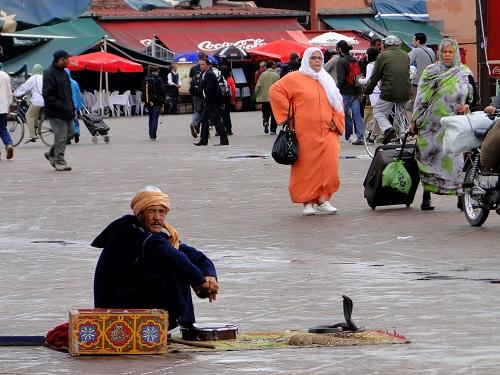 Marakeš, Maroko, potovanje, znamenitosti