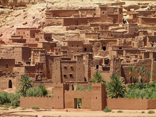 Ourzazate, filmska industrija, potovanje, Maroko, znamenitosti