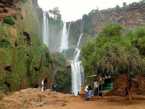 slapovi Ouzoud, Marakeš, Maroko, potovanje, znamenitosti