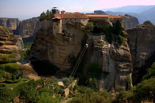 Meteora, Grčija, znamenitosti