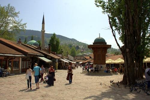 Sarajevo znamenitosti, znamenitosti v Sarajevu, izlet v Sarajevo, Sarajevo izlet, krompirjeve počitnice, prvi maj