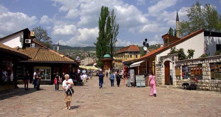 Sarajevo znamenitosti, znamenitosti v Sarajevu, izlet v Sarajevo, Sarajevo izlet