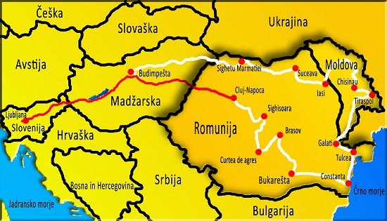 Romunija potovanje, potovanje v Romunijo, z avtom v Romunijo, Transilvanija