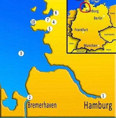 severna Nemčija, izlet v Nemčijo, z avtom v Nemčijo, Nemčija potovanje, znamenitosti severne Nemčije