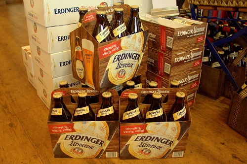 Pivo Erdinger, Erdinger pivovarna, belo pivo Erdinger, pšenično belo pivo Erdinger, voden ogled pivovarna Erdinger