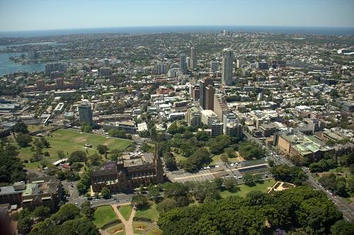 Sydney, Skywalk, Sydney Tower, Sydney znamenitosti, Avstralija potovanje