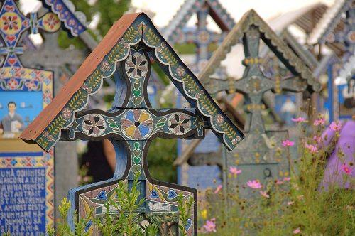 Romunija potovanje, veselo pokopališče Romunija, vlak Mocavita Romunija