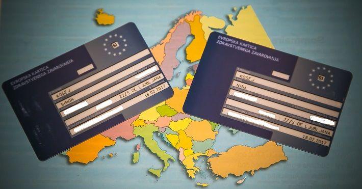 evropska kartica zdravstvenega zavarovanja, zdravstveno zavarovanje za tujino