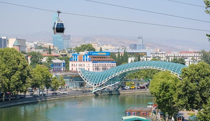 Tbilisi Gruzija, Gruzija potovanje, Gruzija z avtom