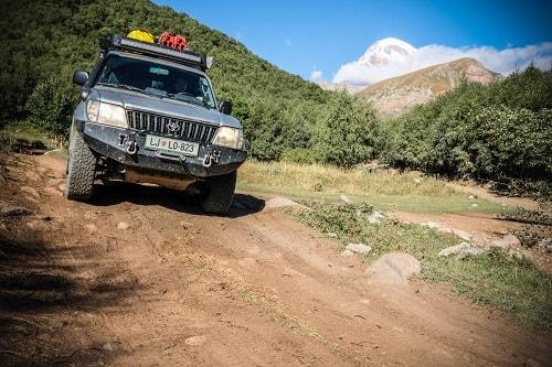Gruzija z avtom, Gruzija potovanje, Gruzija Kazbegi