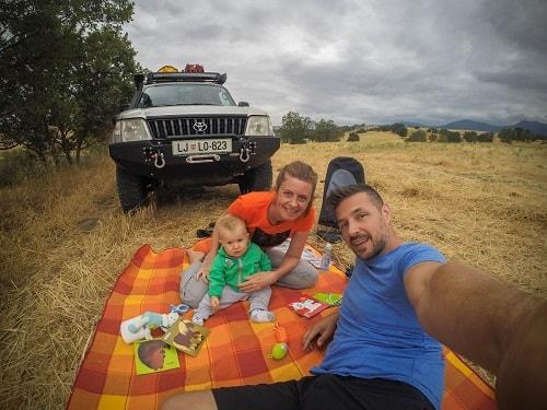 potovanja z dojenčkom, Gruzija z avtom, Gruzija potovanje