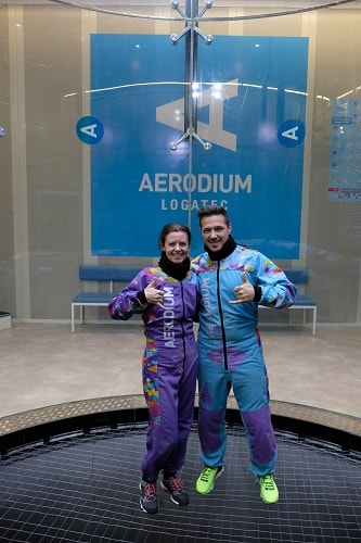 Aerodium Slovenija, Aerodium Logatec, letenje v vetrovniku